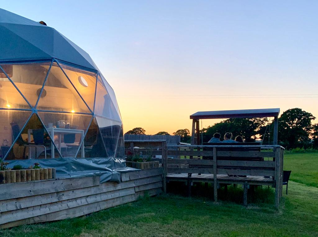 The Dorset Hideaway Dome Glamping