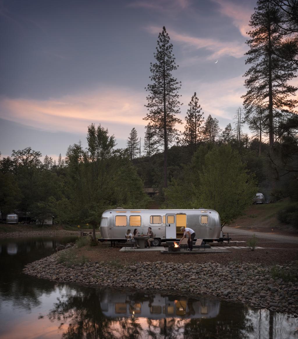 AutoCamp Yosemite Airstream