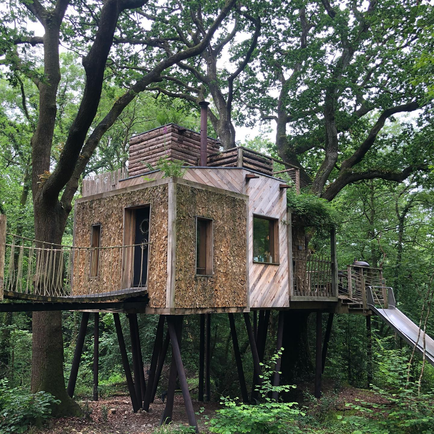 Crafty Camping Tree House Dorset