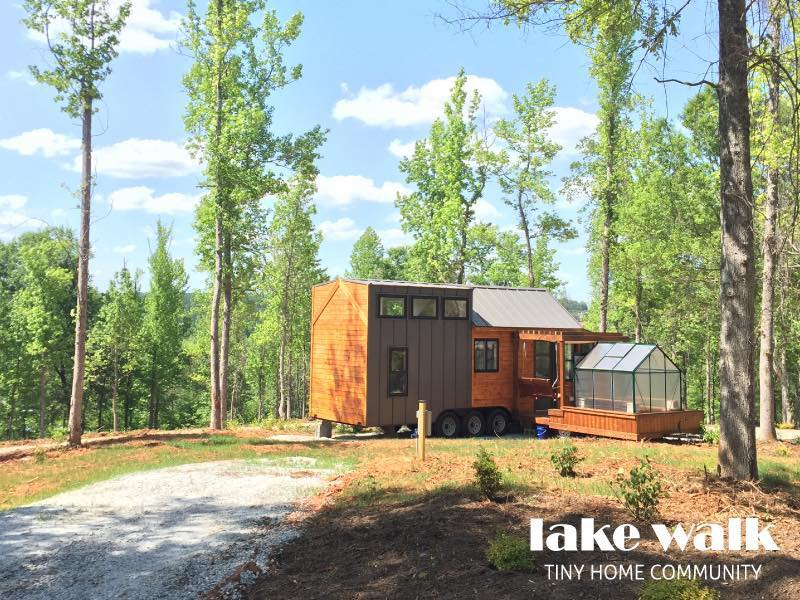 Lake Walk Tiny House Community South Carolina