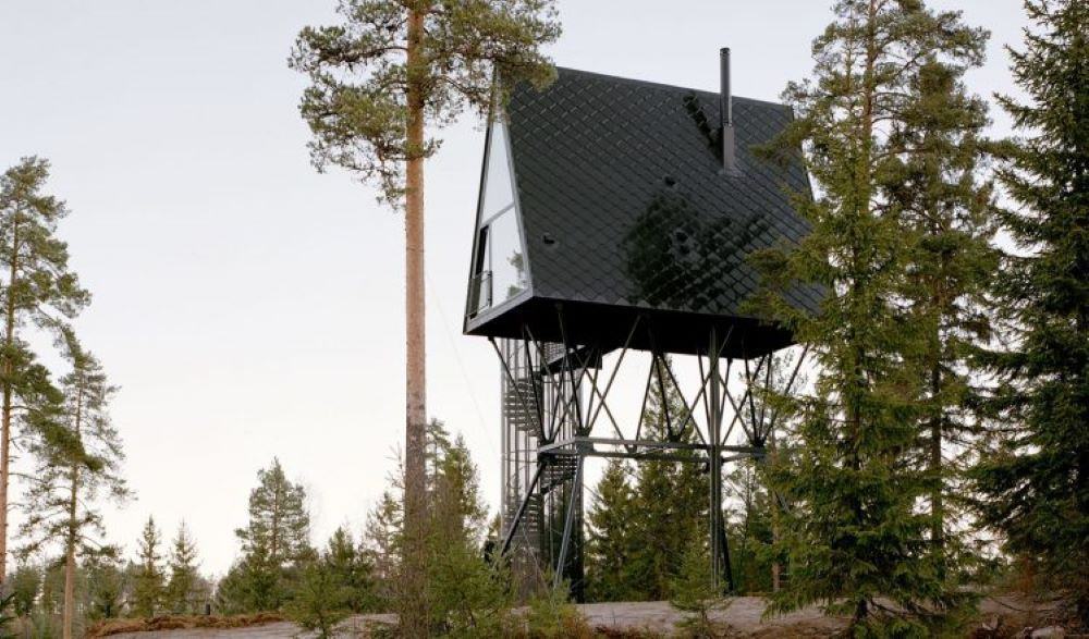 Pan Hytter Treehouse Norway