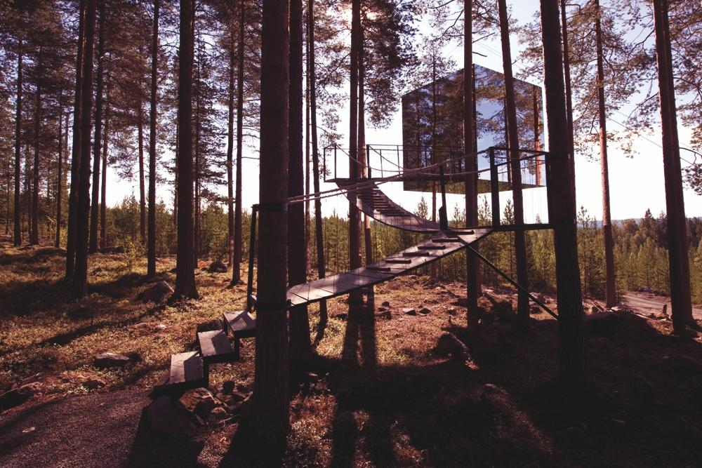 The Mirrorcube Sweden Treehotel