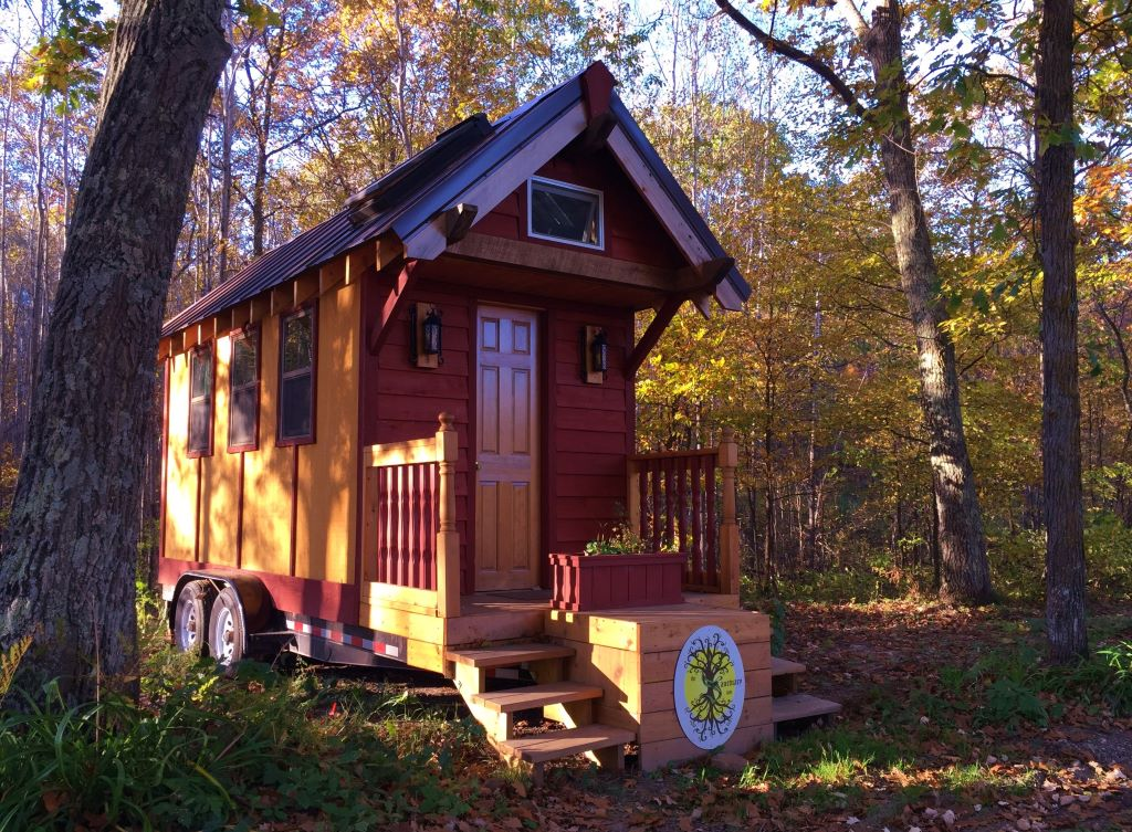 Tiny house community in Minnesota The Sanctuary