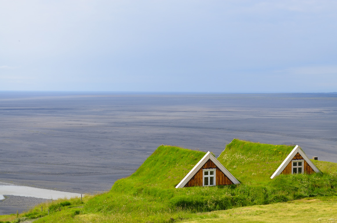 different houses around the world - turf homes
