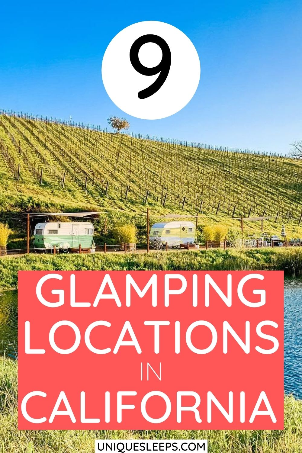 9 glamping locations in California