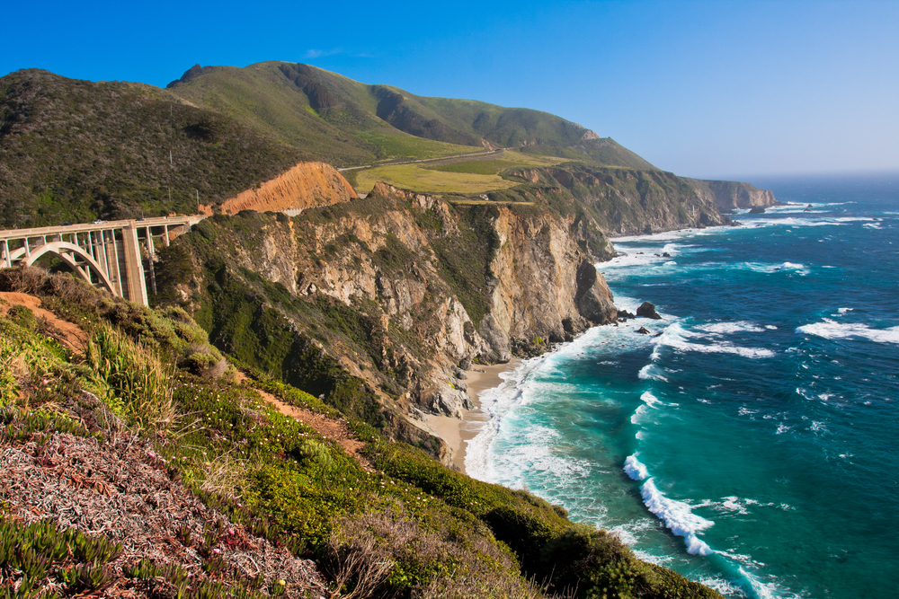 Coastline of California for Glamping in California