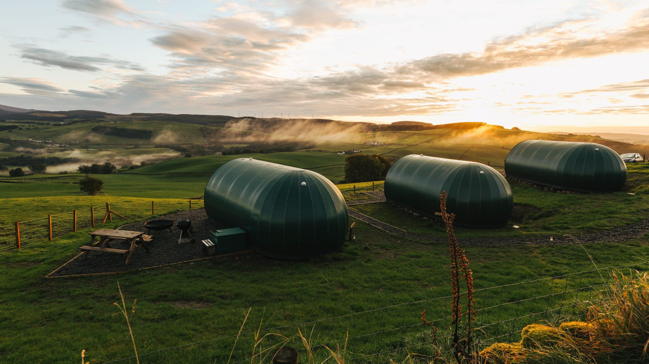 Further Space Glamping Pods Scotland