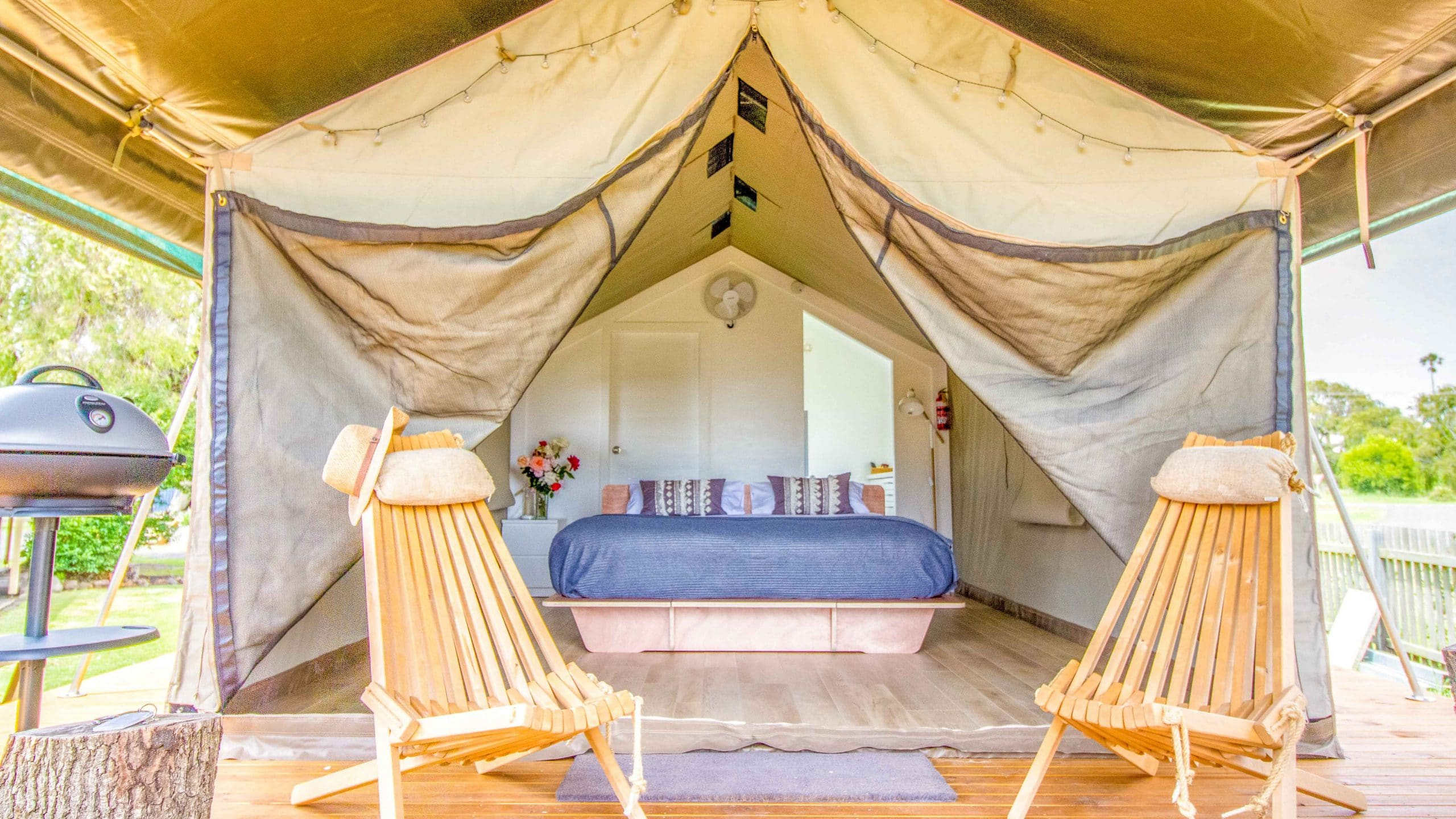 South Coast Retreat Safari Tent NSW