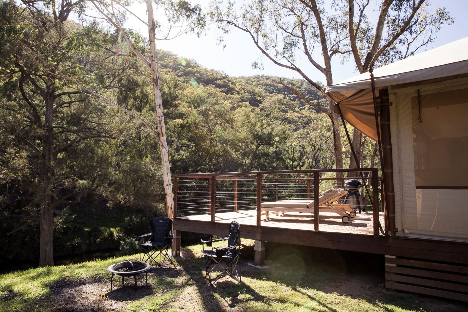 Turon Gates Glamping Tent Blue Mountains NSW